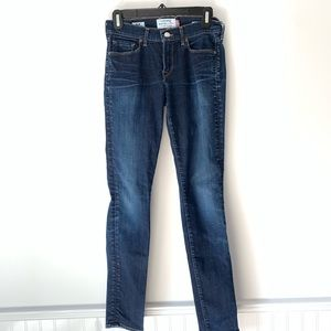 Lucky Brand White Oak Sofia Skinny Jeans Size 2/26